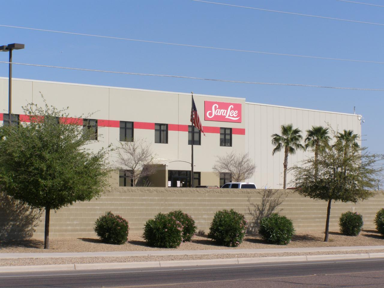 SaraLee Distribution Center - S&W Land Surveying Services