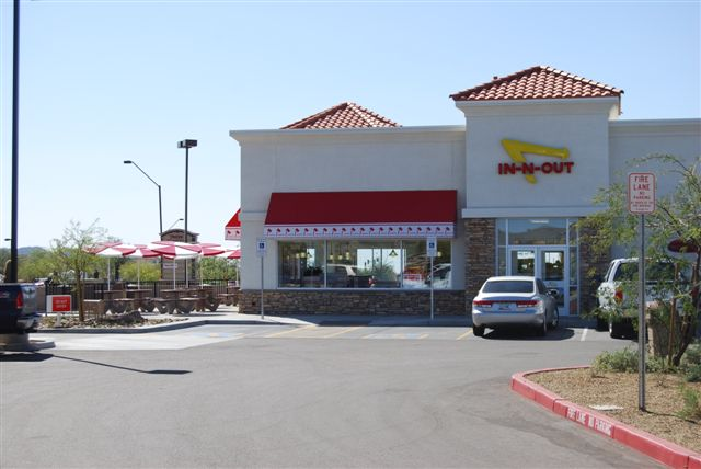 IN-N-Out Burger ~ Carefree Highway - S&W Land Surveying Services
